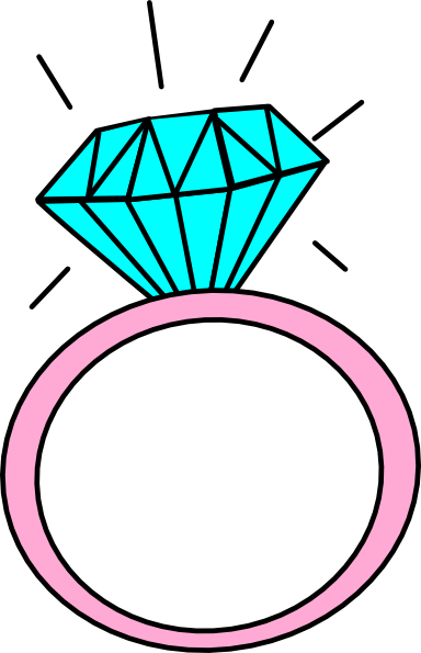 Rings clipart civil wedding. Engagement ring cartoon clip
