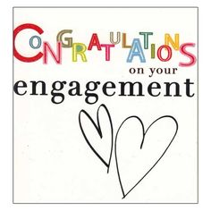 Engagement clipart wedding wishes. Images of engagements congratulations