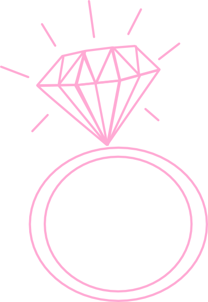 Engagement ring clipart png. Cartoon wedding rings clip