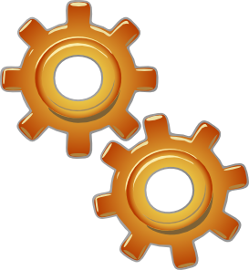 Gears motion motor clip. Engine clipart graphic freeuse stock