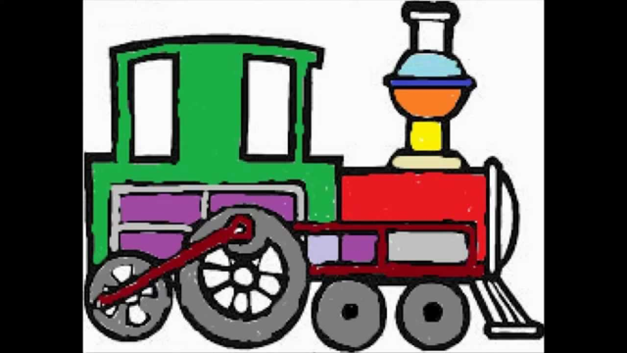 Engine clipart choo choo train. Coloring book let s