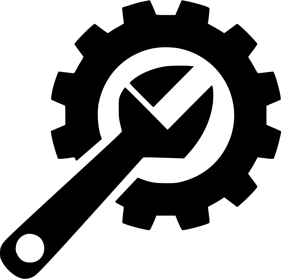 Engine clipart crossed wrench. Free icon png download