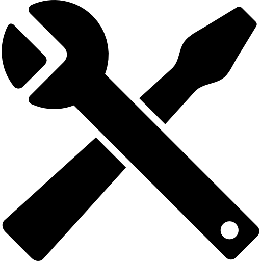 Engine clipart crossed wrench. And screwdriver cross free