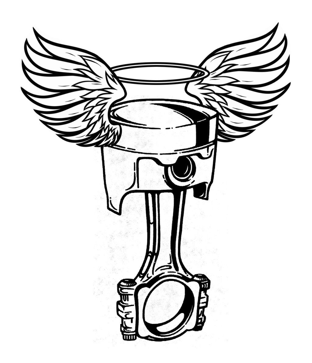 Engine clipart crossed wrench. And piston tattoo displaying