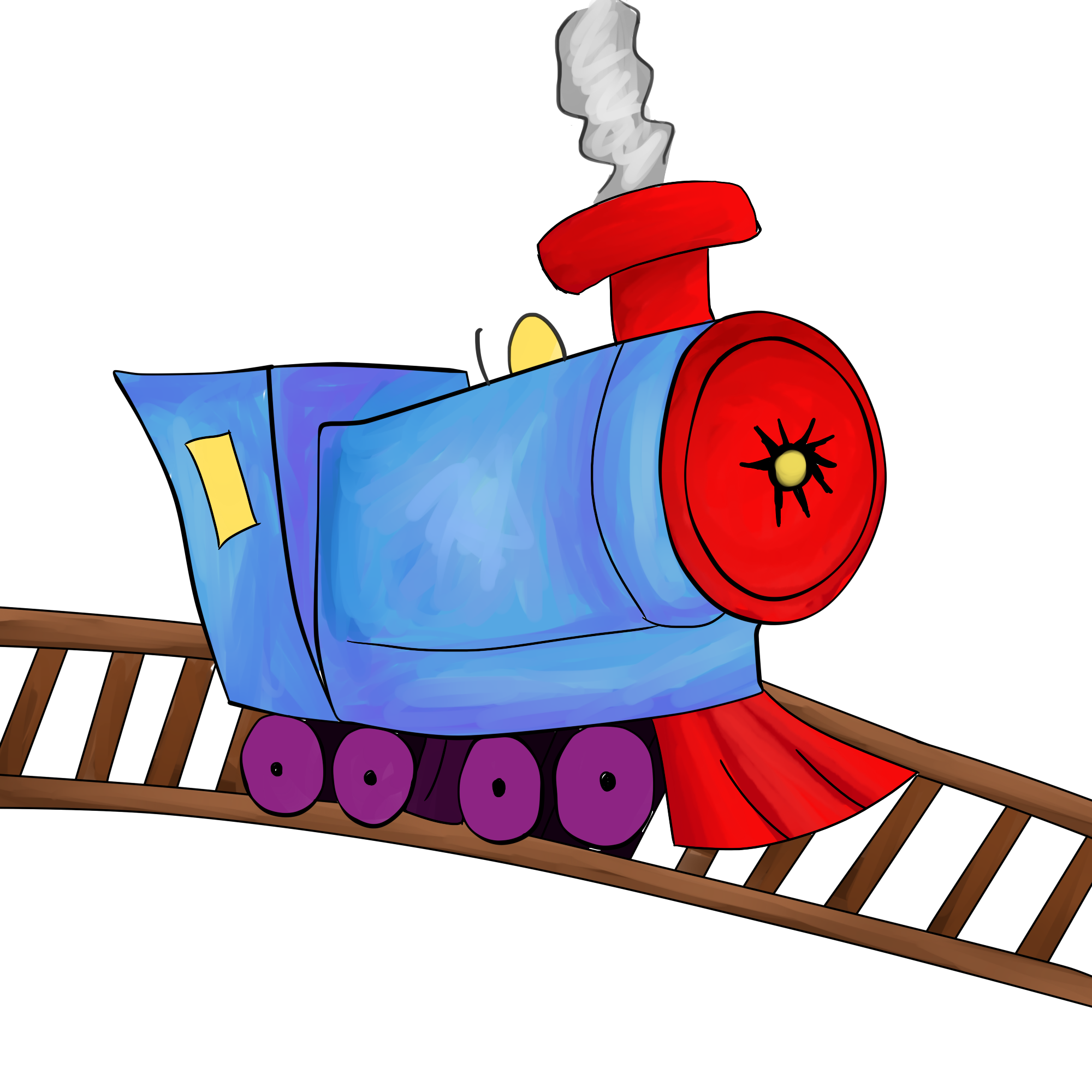Factories clipart cartoon toy. Free train station download