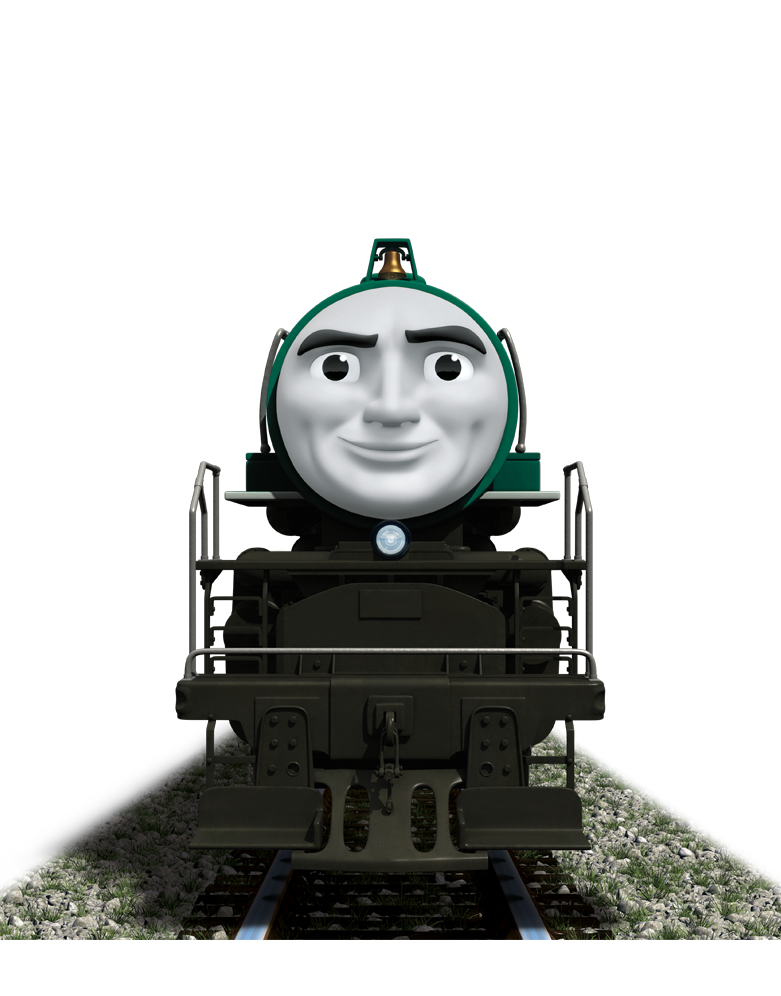 Thomas clipart train head. Meet the friends engines