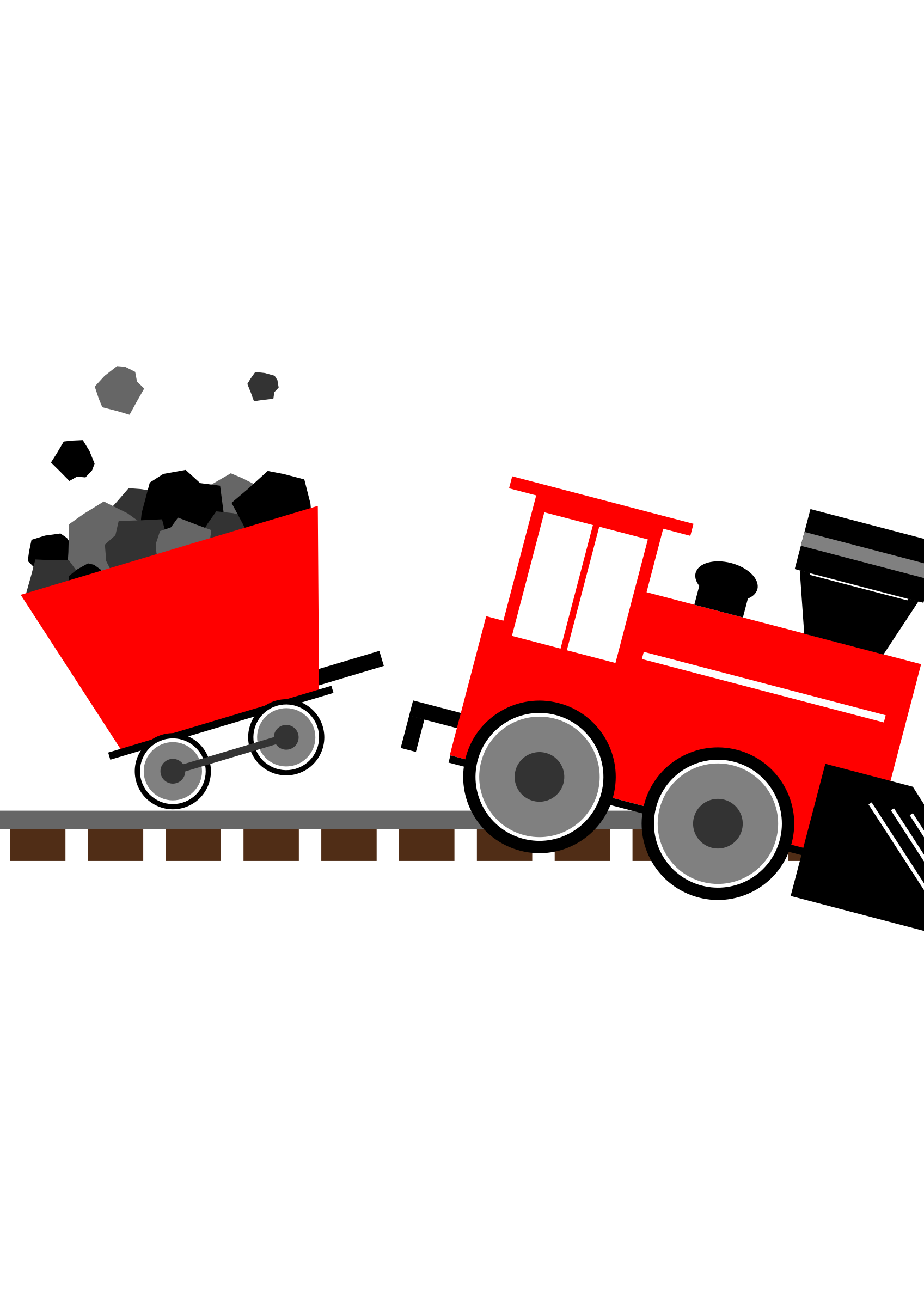 Engine clipart red train. Derailing toy big image