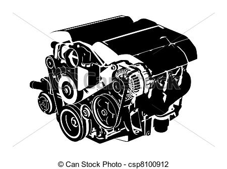 Vector vectro illustration of. Engine clipart graphic royalty free download