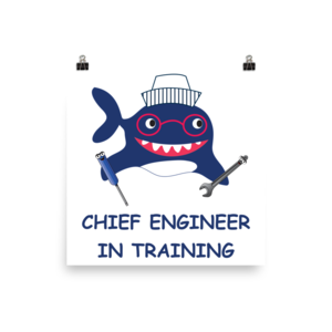 Kids in training poster. Engineer clipart chief engineer jpg royalty free library