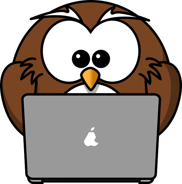 Laptop clipart smartphone. Free owl typing cliparts