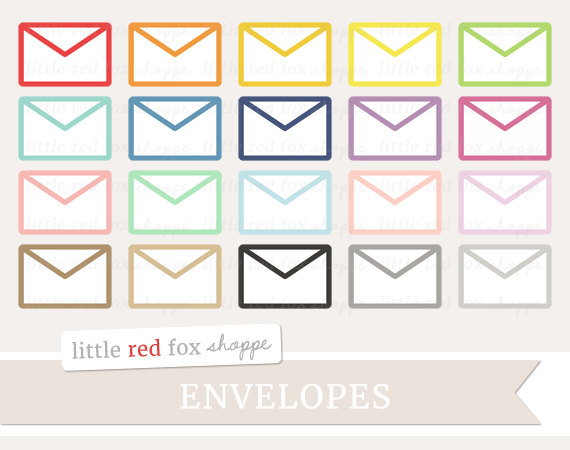 Office clip art mail. Envelope clipart colored envelope image black and white library