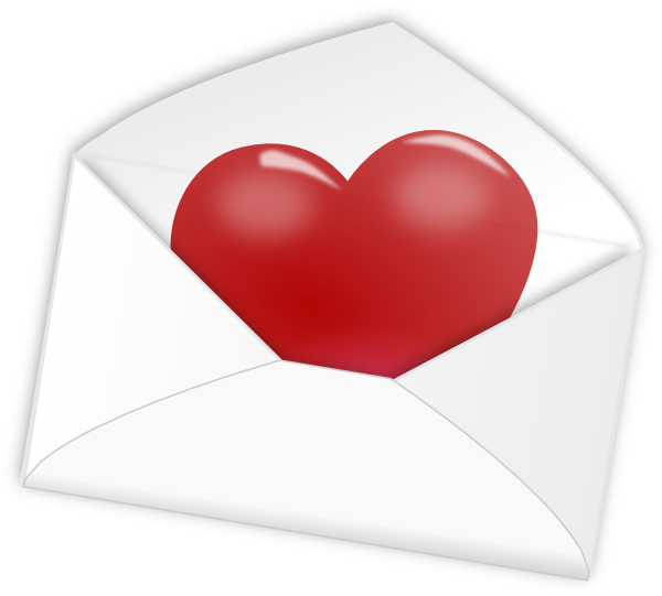 Envelope clipart heart seal. Free valentine cliparts download