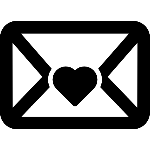 Envelope clipart heart seal. With free signs icons