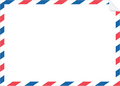 Envelope clipart par avion. Free inspired printable stationary