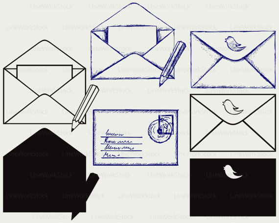 Envelope clipart svg. Envelopes svgenvelope clipartenvelope silhouetteenvelope