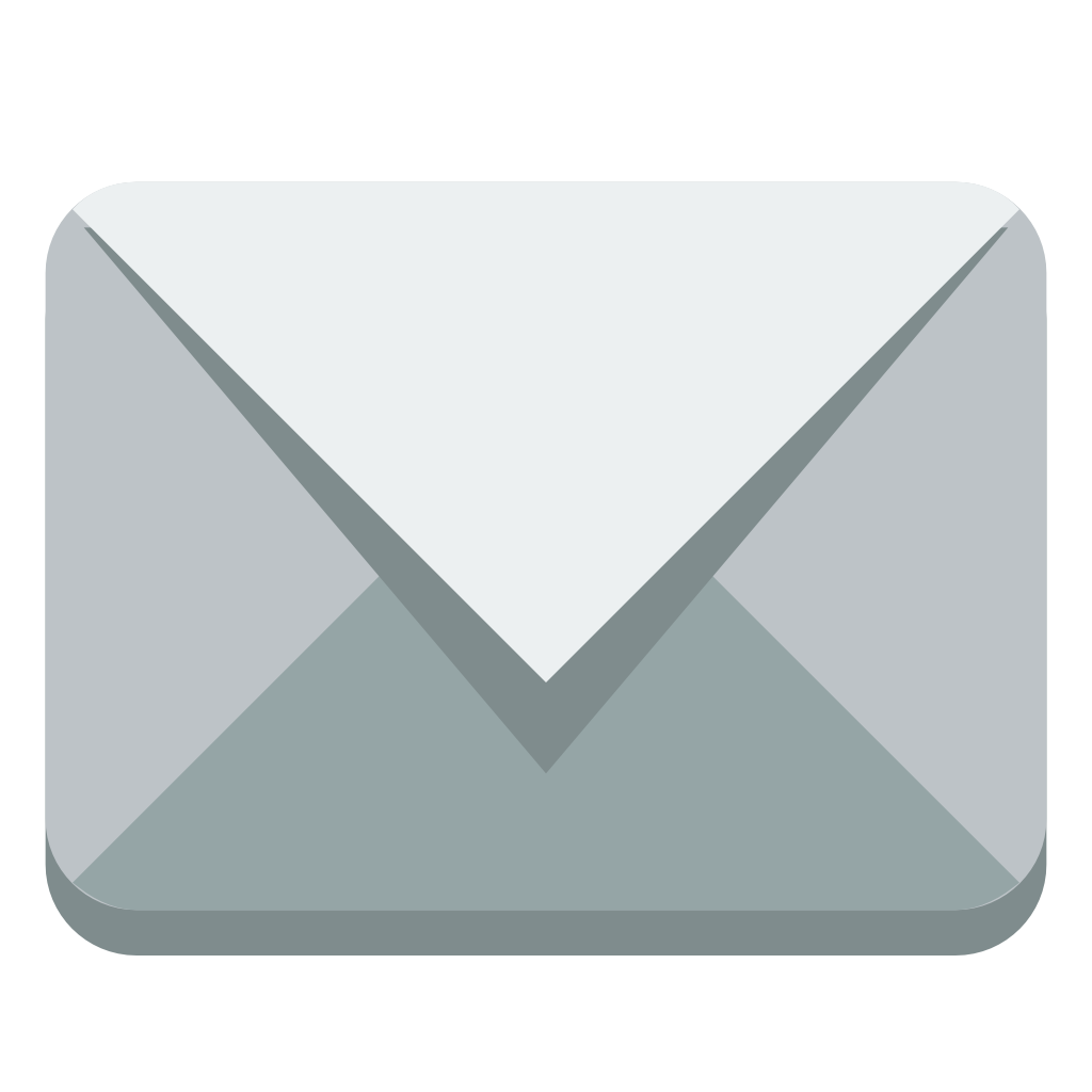 Envelope icon png. Small flat iconset paomedia