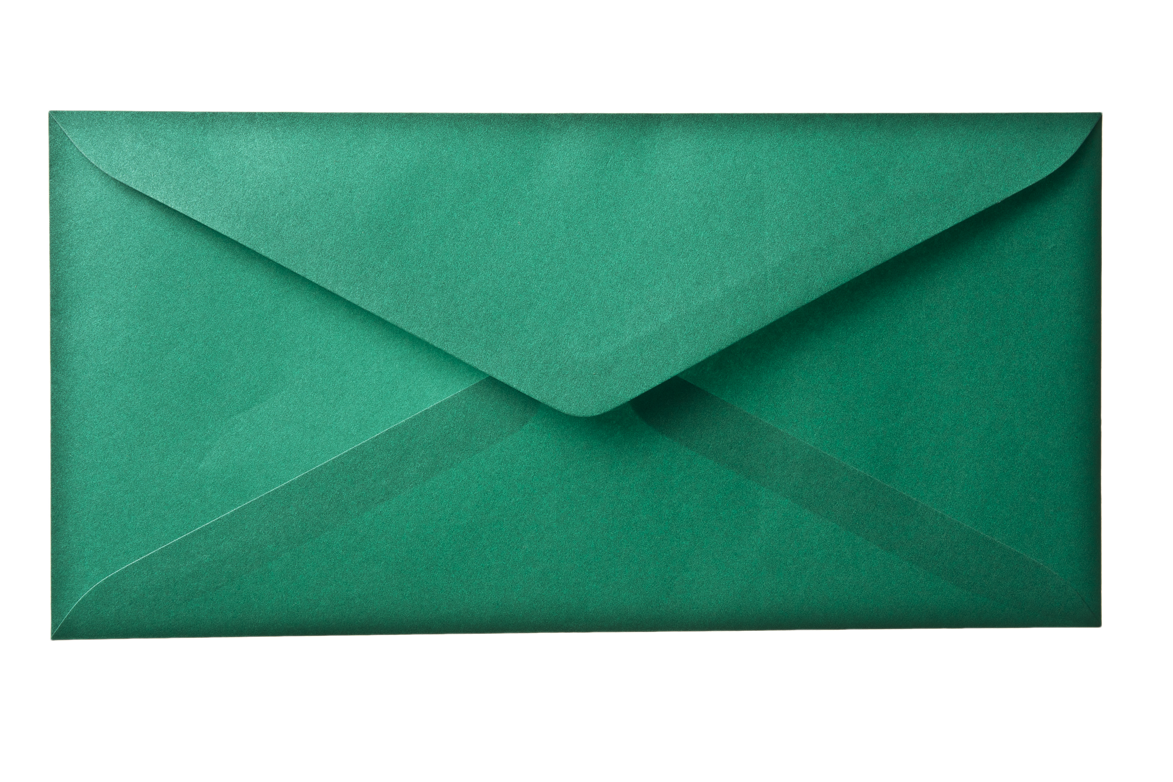 Envelope transparent paper. Backgrounds green layer background