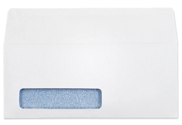 Envelope transparent clear. Digi c window