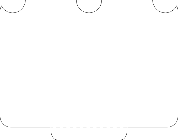 pocket envelope template. Svg templates svg free