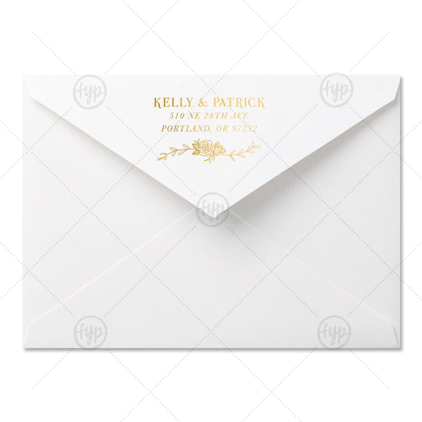 Envelope transparent foil. A economy for your