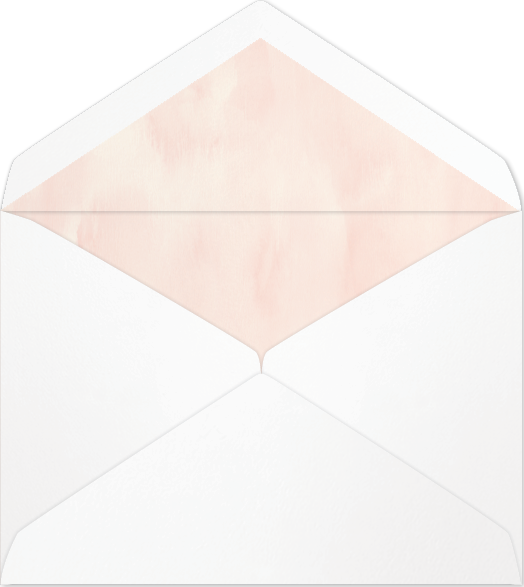 Envelope transparent foil. Dana metallic lined available
