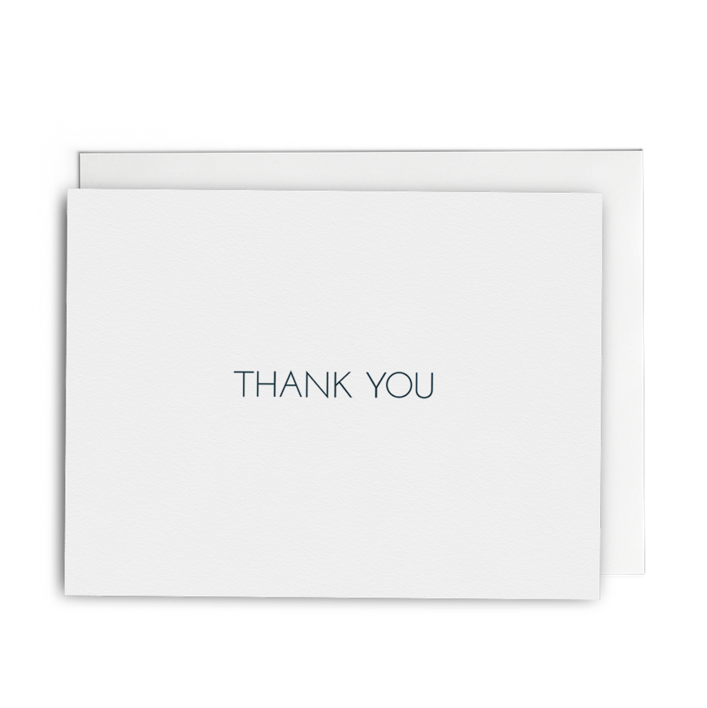 Envelope transparent marble. Thank you lined lost