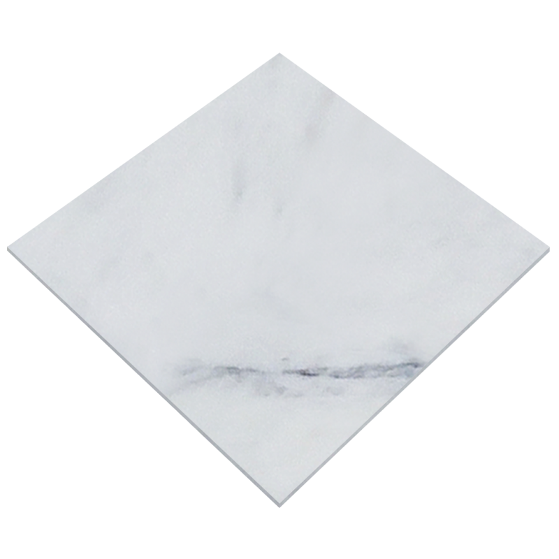 Envelope transparent marble. X imperial white