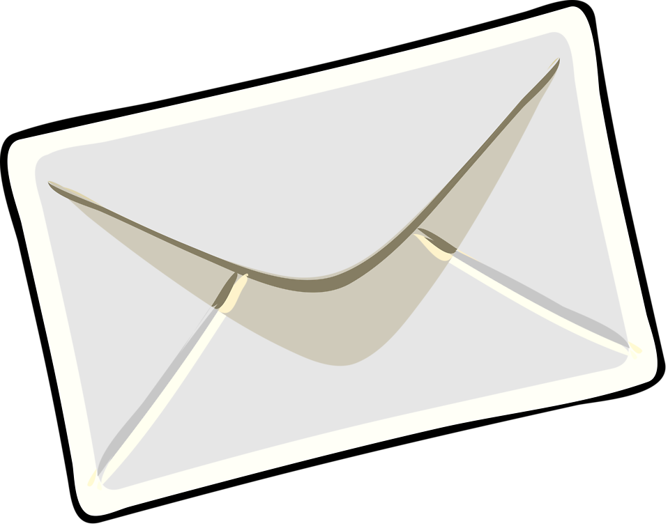 envelope transparent fancy