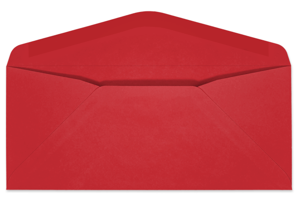 envelope transparent red