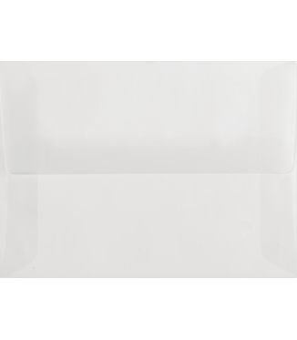 Envelope transparent vellum. Inner another clear option