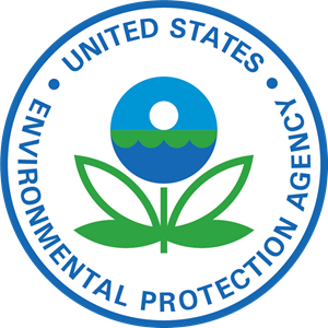 Environment vector business. Environmental protection agency logo