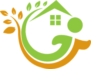 Environment vector care. Home logo eps free