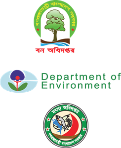 Environment vector forest. Bangladesh fish enviorment deparment