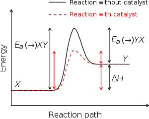 Enzyme drawing activation energy. Profile chemistry wikipedia
