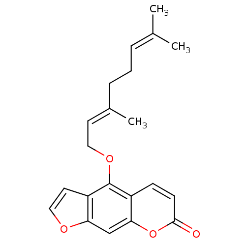 Enzyme drawing specific. Monomer search chembl bergamottin