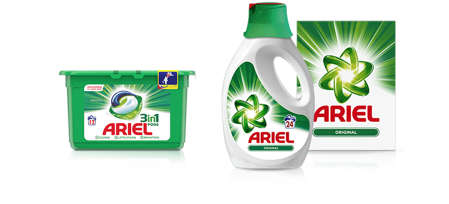 Enzyme drawing washing powder. How to choose the