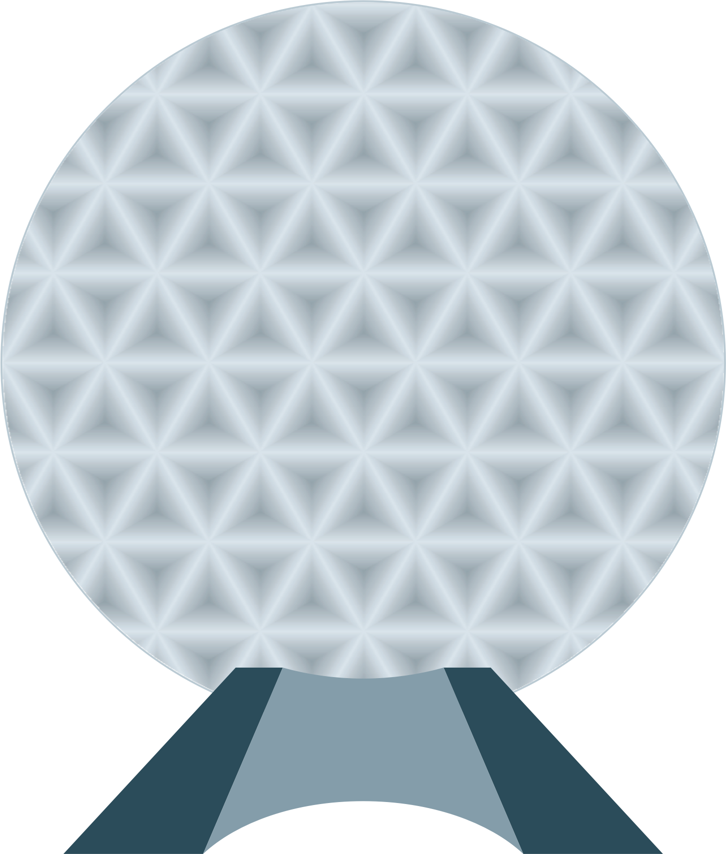Epcot ball png. Clipart spaceship earth big