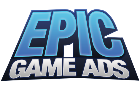 Epic games logo png. Game ads