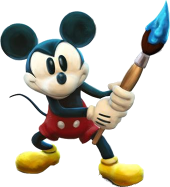 Epic mickey logo png. Image mouse render fantendo