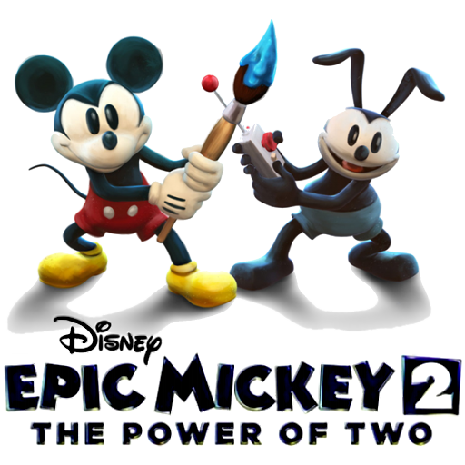 Epic mickey logo png. The power of two