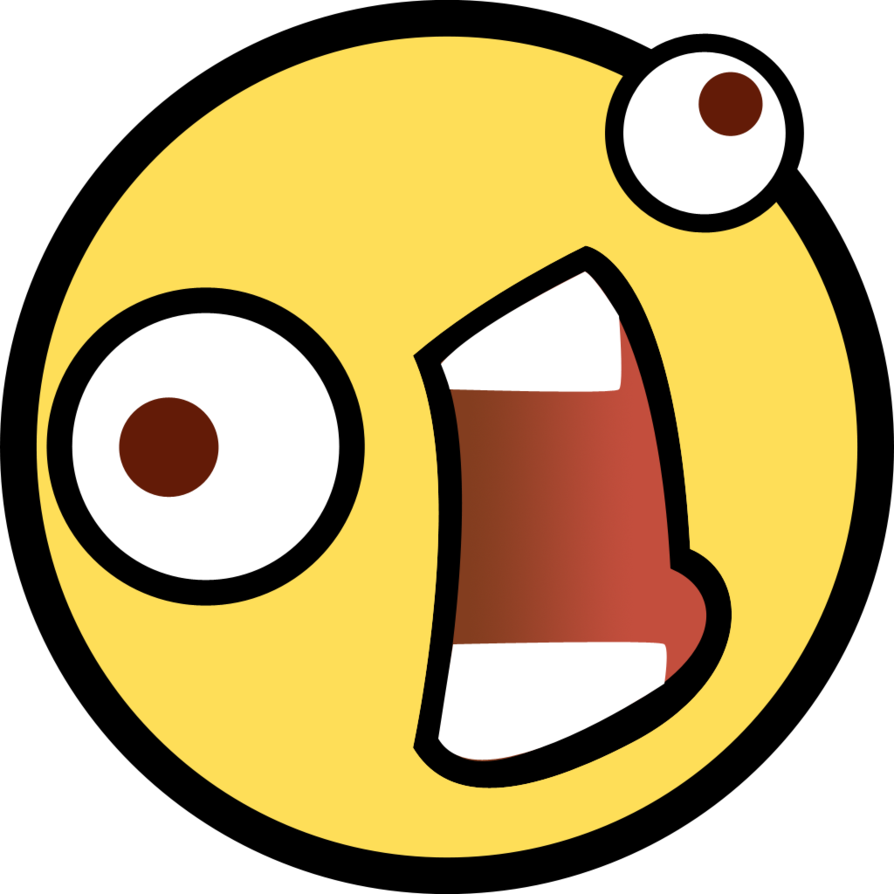 Epic smiley png. Image awesome weirdo emoticon