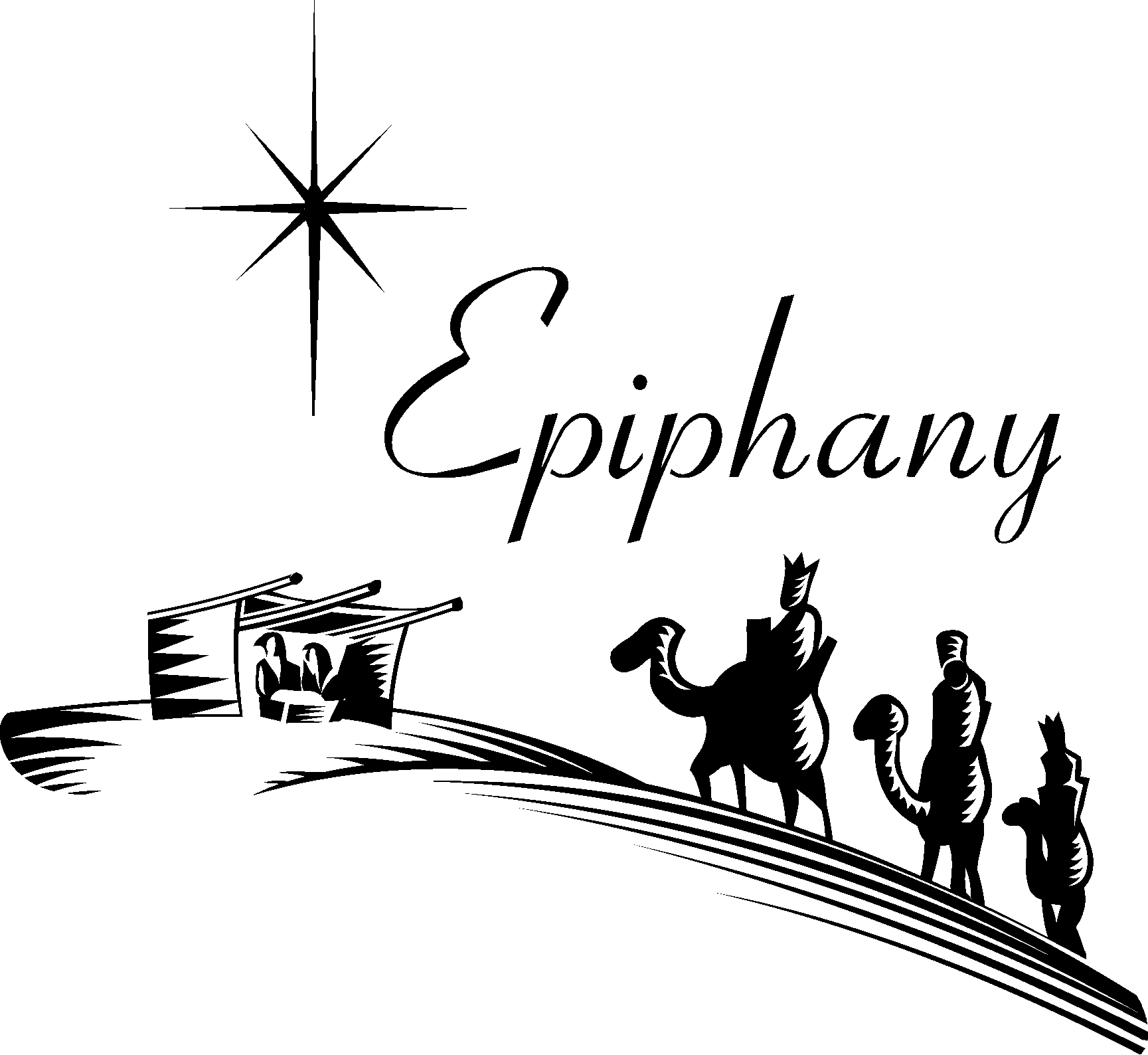 Epiphany clipart epiphany sunday. New design digital collection