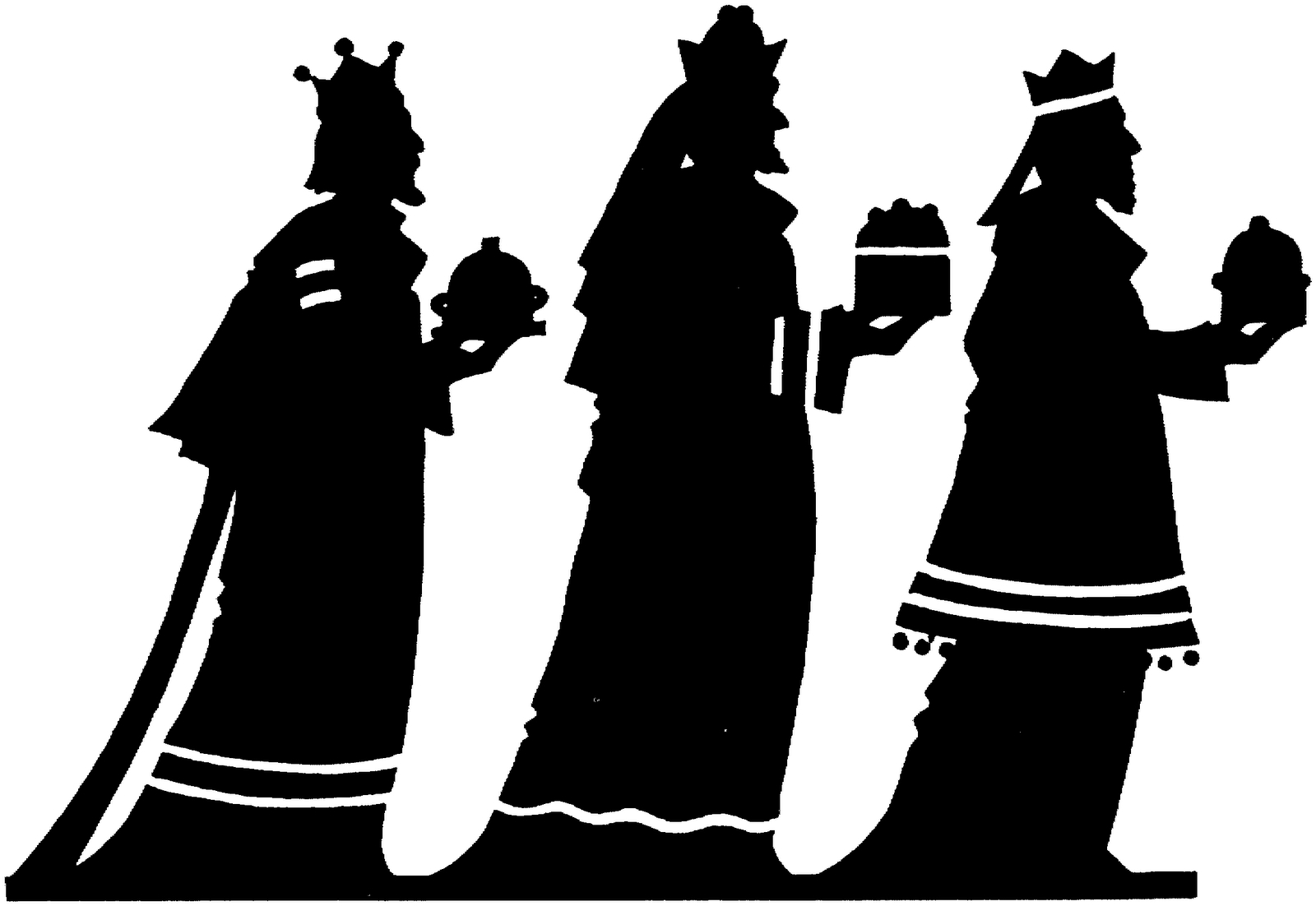 epiphany clipart wise men