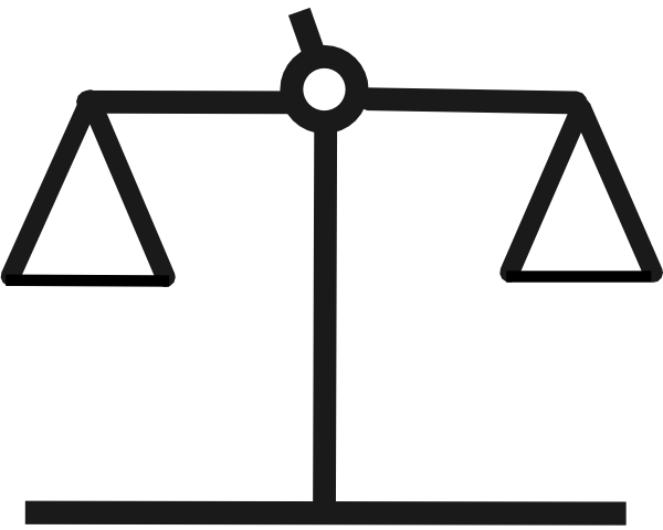 Balance clipart. Equal for free download