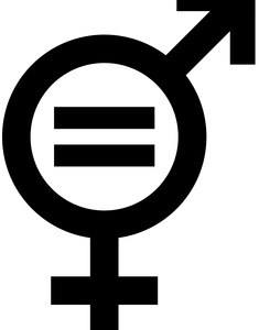 Equal clipart gender inequality. Equality is about shared