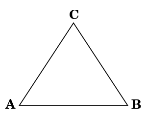 Equilateral triangle png. Geometry for elementary school