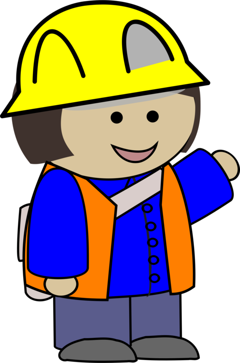 Construction laborer computer icons. Worker clipart service worker vector download