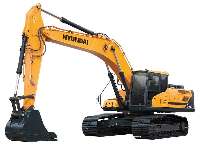 Construction equipment hyundai americas. Backhoe clipart plant machinery image freeuse download