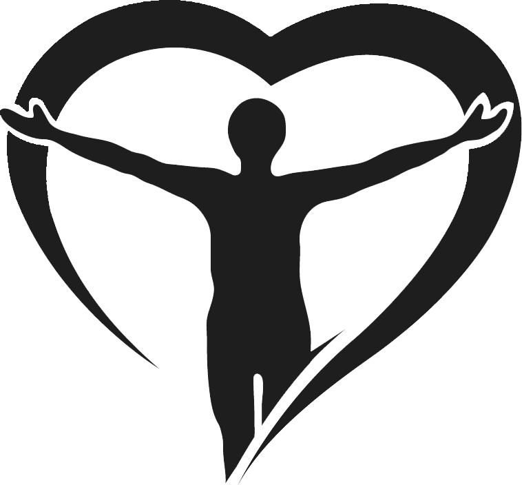 Vector rehabilitation icon. Agape physical therapy recovery
