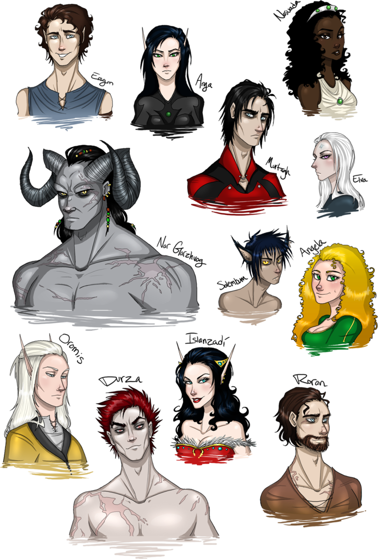 Characters from they are. Eragon drawing picture stock
